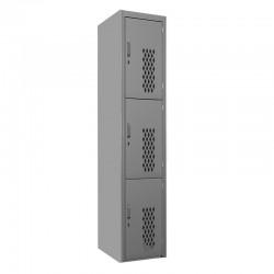 Locker Troquelado 3 puertas