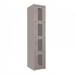 Locker Malla 4 Puertas