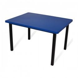 Mesa infantil rectangular cub. polipropileno