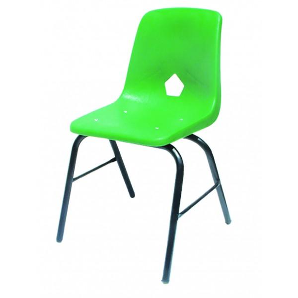 Silla poly silla escolar sillas escolares sillas for Sillas escolares para zurdos