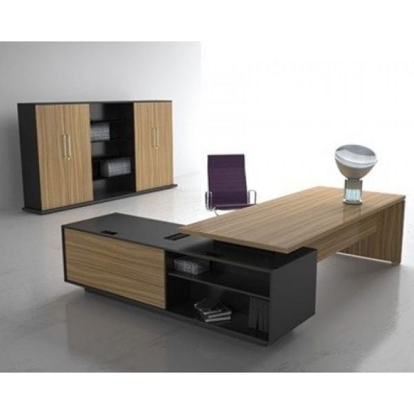 Escritorio boss 101 cf escritorio moderno escritorio for Mobiliario de oficina escritorios