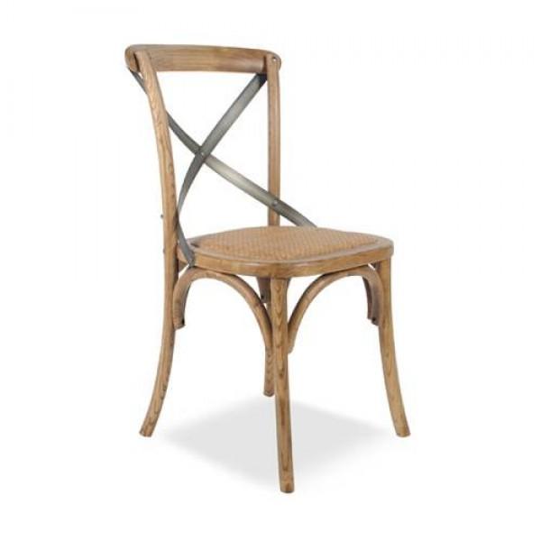 SILLA CROSS BACK NATURAL | Silla, sillas , silla para cocina, silla ...