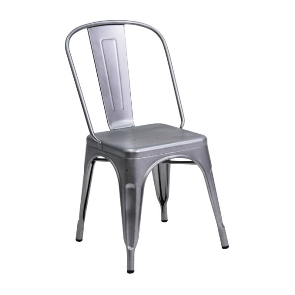 SILLA FOLIX ACERO | Silla, Silla para cocina, silla contemporánea ...